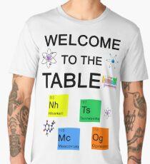 Nihonium, Tennessine, Moscovium, Oganesson: new Periodic Table elements Men's Premium T-Shirt