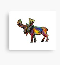 The Bull Moose Canvas Print