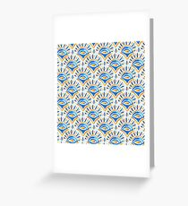 Watercolor Abstract Pattern Greeting Card