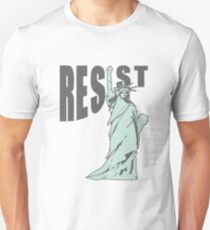 Lady Liberty Resist Unisex T-Shirt