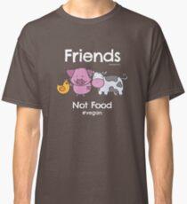 Friends Not Food T-Shirt for Vegans and Vegetarians Classic T-Shirt