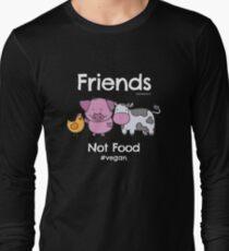 Friends Not Food T-Shirt for Vegans and Vegetarians T-Shirt