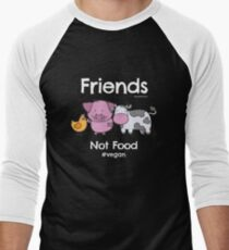 Friends Not Food T-Shirt for Vegans and Vegetarians T-Shirt