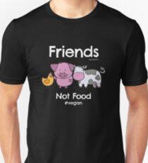 Friends Not Food T-Shirt for Vegans and Vegetarians Unisex T-Shirt