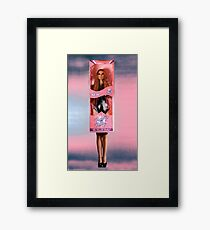 Dolly Package Framed Print