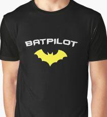 BATPILOT - Super Hero PILOT Captain Aviator  Graphic T-Shirt