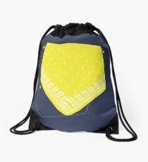 Yellow Handkerchief in Pocket Gay Hanky Code Drawstring Bag