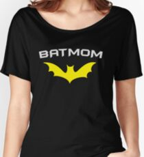 BATMOM - Proud Mom Mother Super Mom Hero  Women's Relaxed Fit T-Shirt