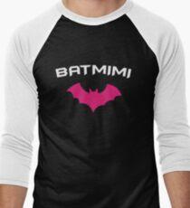 BATMIMI - Proud MIMI GrandMother Super Mimi Hero Men's Baseball ¾ T-Shirt