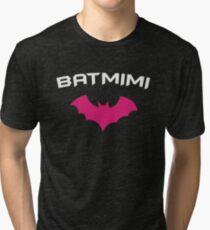 BATMIMI - Proud MIMI GrandMother Super Mimi Hero Tri-blend T-Shirt