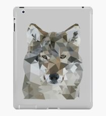 Wolf Face Poly iPad Case/Skin
