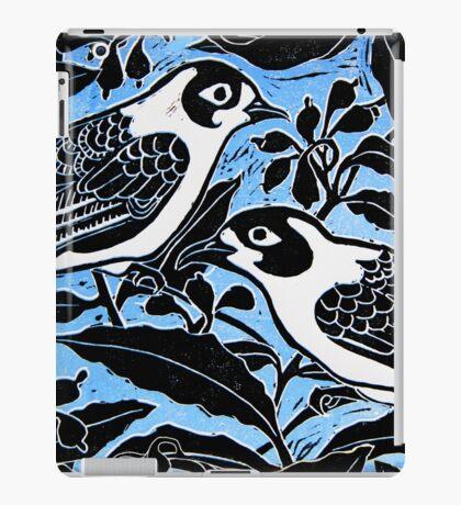 blue birds iPad Case/Skin