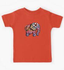 Tattoo Elephant TShirt Kids Tee
