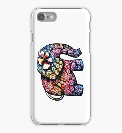 Tattoo Elephant TShirt iPhone Case/Skin