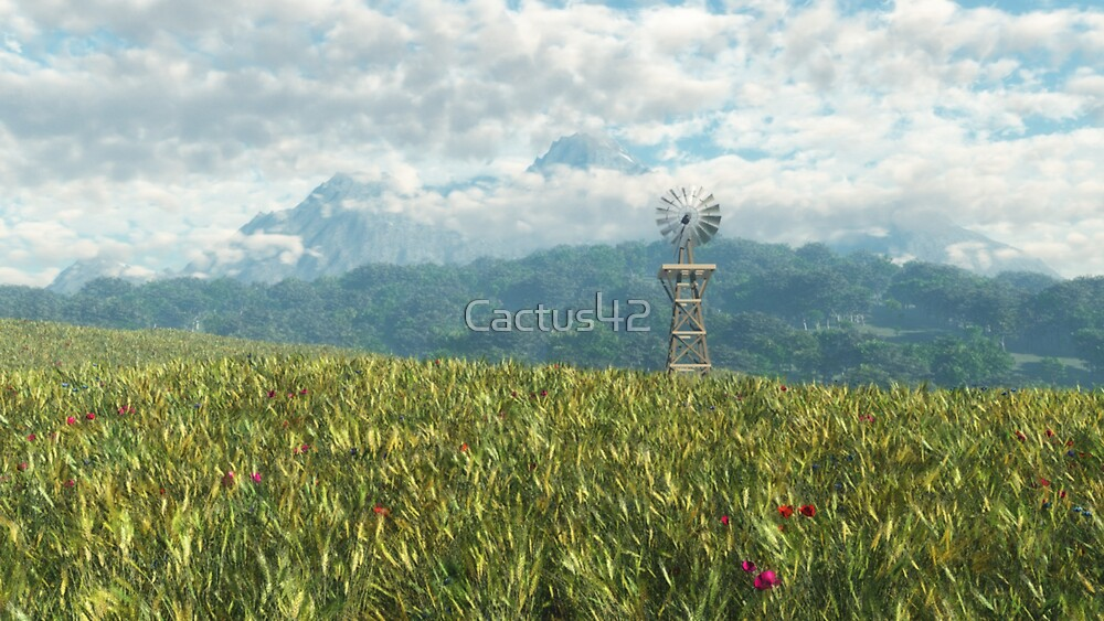 Le temps des moissons / Harvest Time by Cactus42