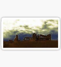 Whitby Abbey Sticker