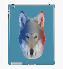 Wolf Face Poly Rainbow iPad Case/Skin