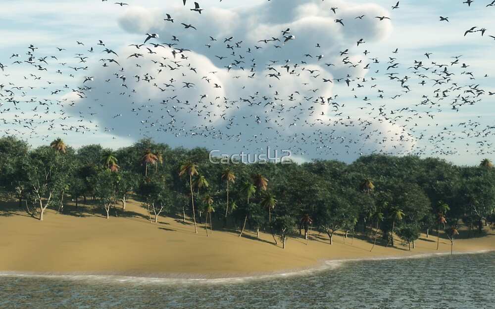 Le long de la plage / Along the beach by Cactus42