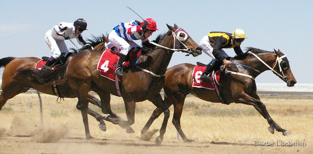 The Train of Racing Muscle by Baxter Lindeman