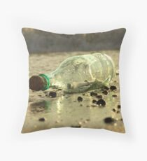 message in a bottle - 4 Throw Pillow