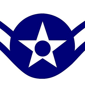 AIRMAN, Air man, FLYING, Air Force, USA, US, America, American by TOMSREDBUBBLE