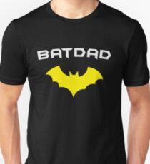 BATDAD - Proud Dad Father Super Dad Hero T Shirt Unisex T-Shirt