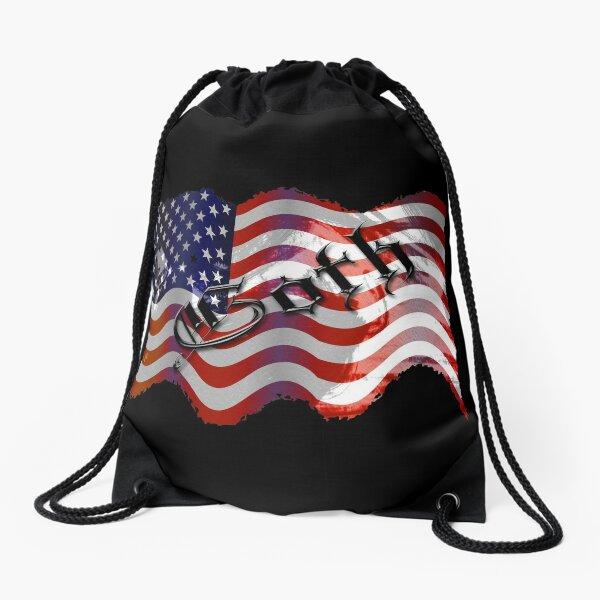 Stars And Stripes ll Drawstring Bag