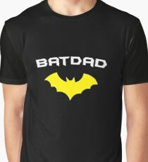 BATDAD - Proud Dad Father Super Dad Hero  Graphic T-Shirt