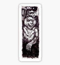 Werewolf Sticker