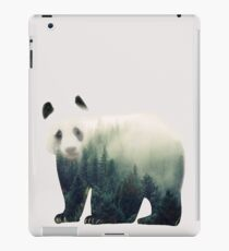 Panda Nature Forest iPad Case/Skin