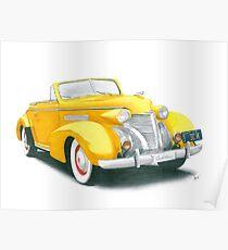 39 Cadillac Poster