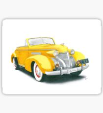 39 Cadillac Sticker