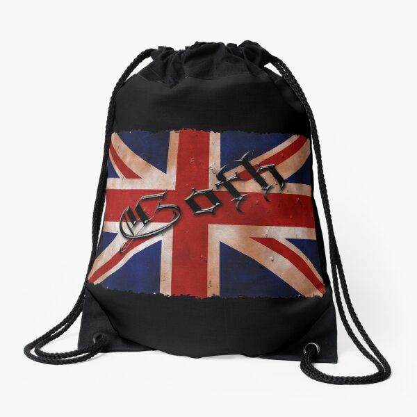 Union Flag ll Drawstring Bag
