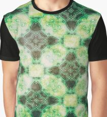 Crisscross Pattern 4 Graphic T-Shirt