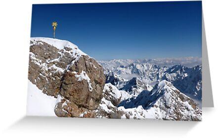 Der Gipfel ~ Zugspitze ~ Top of Germany von ©The Creative  Minds
