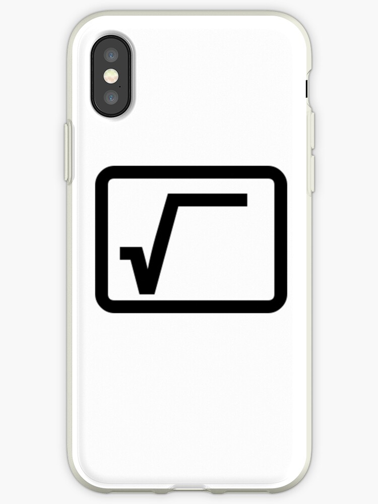 Square Root Button Iphone Cases Covers By 2monthsoff Redbubble