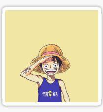 Luffy : Kids Sticker