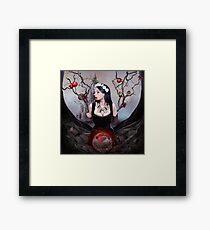Twisted Fairytale Snowwhite Framed Print