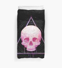 Funda nórdica Skull in triangle on black