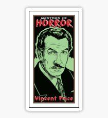 VINCENT PRICE-MASTER OF HORROR Sticker