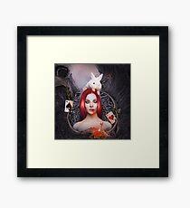 Twisted Fairytale Alice Framed Print