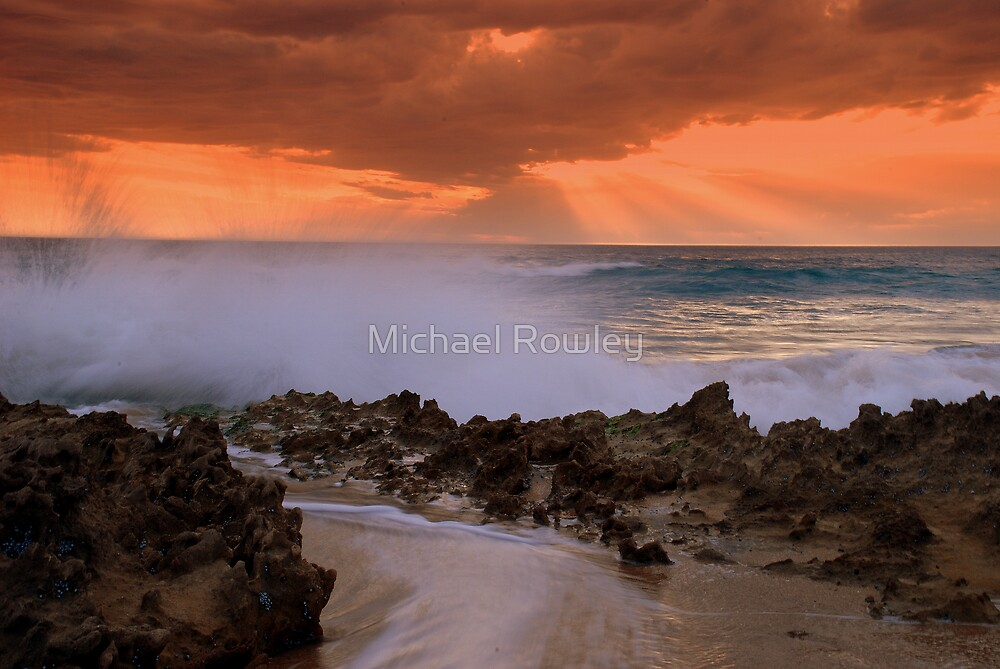 Beach series 3 by Michael Rowley