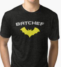 BATCHEF - Super Hero Chef Cook  Tri-blend T-Shirt