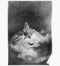 Gustave Dore, 1883, Illustration, Edgar Allan Poe, 'The Raven' Poster