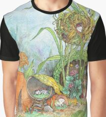 Secret Fort in the Abandoned Garden Graphic T-Shirt