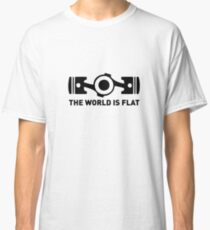 The world is flat Classic T-Shirt