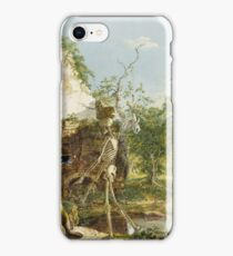Joseph Wright Of Derby - The Old Man And Death iPhone Case/Skin