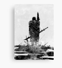 Scorched Earth Hero Canvas Print