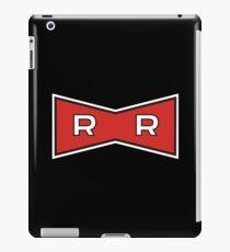 Red Ribbon Army logo iPad Case/Skin