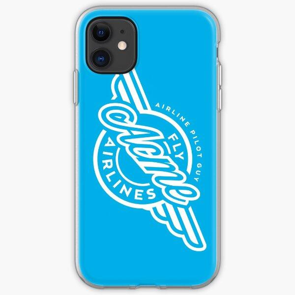 Sky Blue phone case iPhone Soft Case